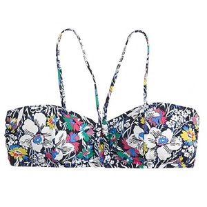 J.Crew Floral Bikini Top